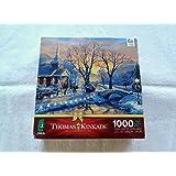 Thomas Kinkade Holiday Blessings 1000 Piece Puzzle