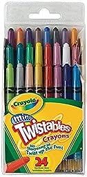 Crayola Mini Twistables Crayons, 24 Count ( Case of 12 )