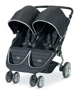Britax 2013 B-Agile Double Stroller, Black (Prior Model)