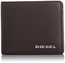 Diesel Men's Jem Wallets Hiresh S, Coffee Bean, One Size