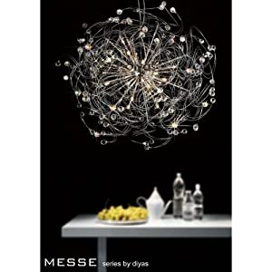 Messe Pendant 24 Light Polished Chrome/Crystal  @Top Deals