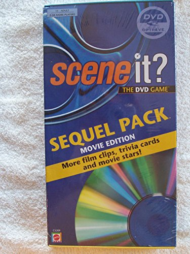 Scene it? The DVD Game Sequel Pack Movie Edition for Master Game