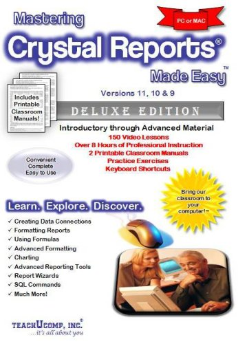 crystal reports training manual pdf