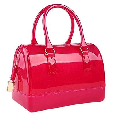 Glamorous Flirty Doctors Style Purse Candy Hand Bag (Red): Handbags
