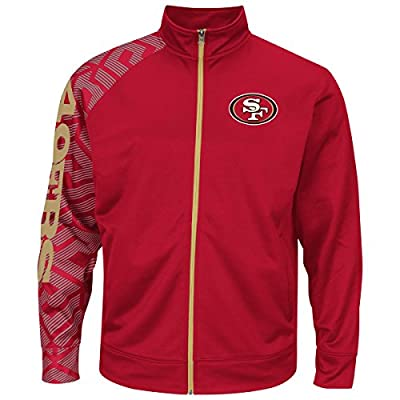 "San Francisco 49ers Majestic NFL ""Moves"" Men's F/Z Therma Base Sweatshirt"