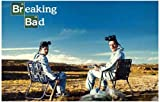 (11x17) Breaking Bad - Walter and Jesse - Crystal Canyon TV Poster