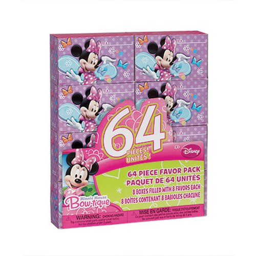 Minnie Mouse Party Favor box Sets - Party Favors - 1 per Pack