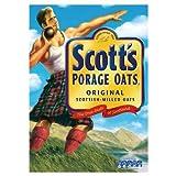 Scott's Porage Oats Original 3kg (Pack of 4)