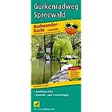Radwanderkarte Gurkenradweg Spreewald: mit Ausflugszielen, Einkehr- & Freizeittipps, wetterfest, reissfest, abwischbar, GPS-genau. 1:50000