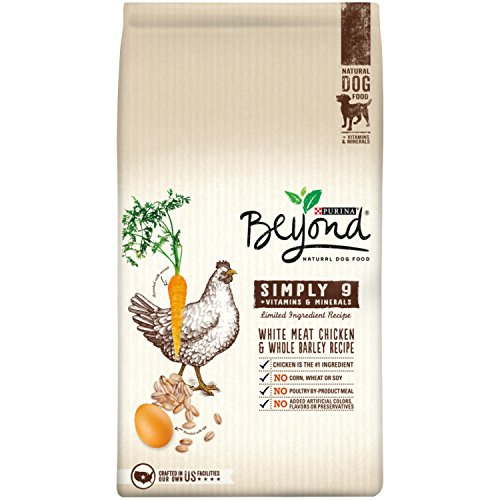 Purina Beyond Natural Dry Dog Food, Simply 9, White Meat Chicken and Whole Barley Recipe, 24-Pound Bag, Pack of 1 (Diamond Natural Dog Good compare prices)