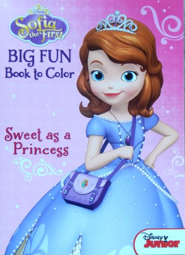 "Disney's Sofia the First Coloring Book ""Sweet As a Princess"" by Disney - 1"