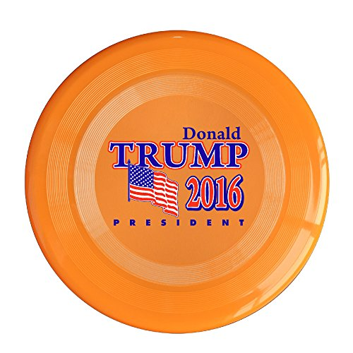 AOLM Presidential Election 2016 Outdoor Game Frisbee Light Up Flying Orange