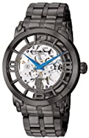 Stuhrling Original Men's 165B2B.335B1 Classic Winchester 44 Elite Automatic Skeleton Black IP Watch by Stuhrling Original