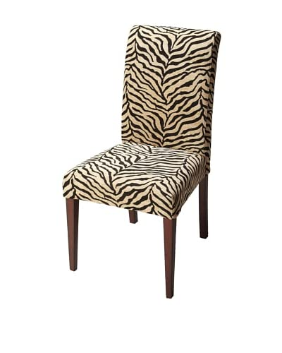 Butler Specialty Company Parsons Chair, Zebra Stripe