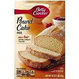 Betty Crocker Pound Cake Mix, 16-Ounce Boxes (Pack of 12) ~ Betty Crocker Baking