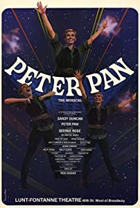 Peter Pan Poster (Broadway) (27 x 40 Inches - 69cm x 102cm) (1979) -(Sandy Duncan)(George Rose)(Joey Abbott)(Cleve Asbury)(William Carmichael)