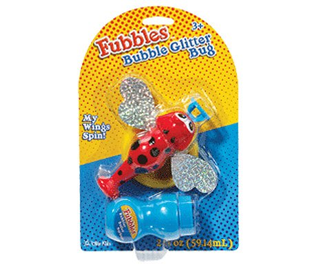 Fubbles Bubble Glitter Bug - 1