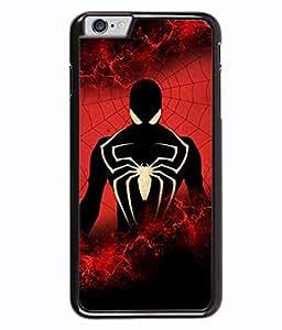 Fuson 2D Printed Spider Designer back case cover for Apple iPhone 6S - D4268