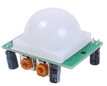 v v 5x module d tecteur de de mouvement infrarouge pyro lectrique pir photo cam scopes. Black Bedroom Furniture Sets. Home Design Ideas