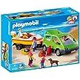 PLAYMOBIL 4144 - Familyvan mit Bootsanhänger