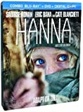 Hanna (Steelbook Edition) [Blu-ray + DVD + Digital Copy] (Bilingual)