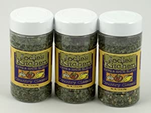 Jodie's Kitchen All Natural MSG Free Herb Spice Blend Country Classic Pack of 3 45 g 1.6 oz each from Kitchen Fusions