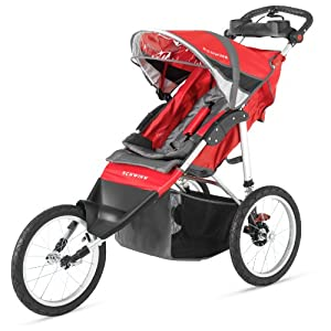 Schwinn Arrow Single Stroller Red/Black