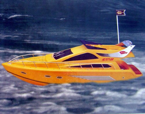 Atlantio 059 Cruiser R/C Luxury Racing Boat RC Electric Radio Remote Control Sports Ship