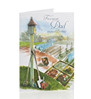 Gardening Dad Birthday Card