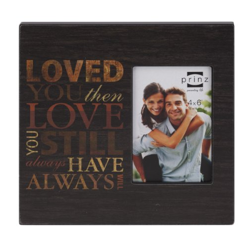 Prinz Love Wood Frame for 4 by 6-Inch Photo (Photo Frame Love compare prices)