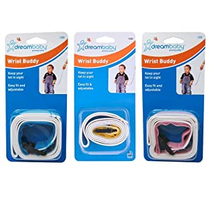 Dreambaby Baby Wrist Buddy Band Toddler Safety Kids Harness Strap Adjustable New