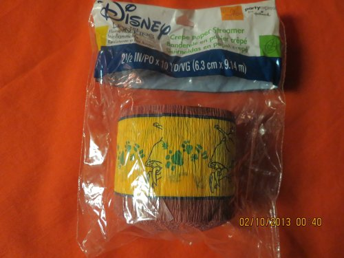 Disney's the Lion King Crepe Paper Steamer (Crepe Paper Steamers compare prices)