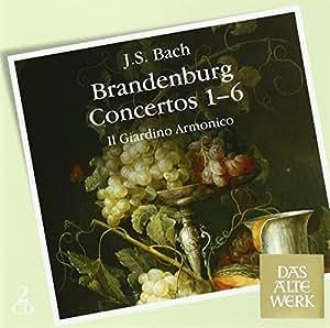 J. S. Bach : Concertos Brandebourgeois, n° 1 à 6