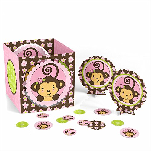 Monkey Girl - Party Table Decorating Kit