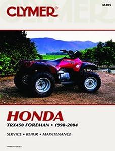 2002-2004 HONDA TRX450FM SERVICE MANUAL HONDA, Manufacturer: CLYMER, Manufacturer Part Number: M205-AD, Stock Photo - Actual parts may vary.