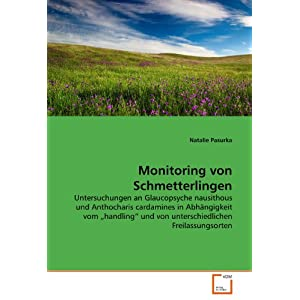 Monitoring von Schmetterlingen: Untersuchungen an Glaucopsyche nausithous und Anthocharis cardamines