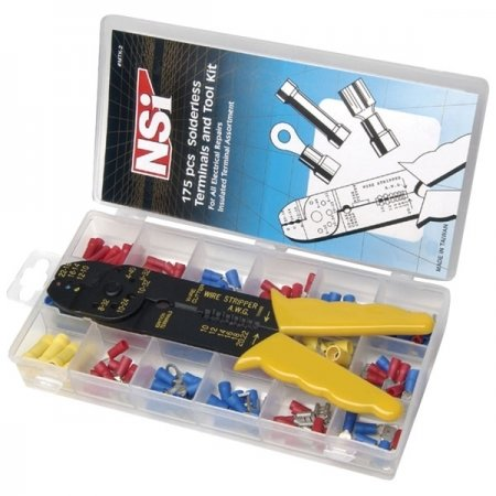 NSi Industries MTK-2 180-pc Miniterm Kit (with Tool)