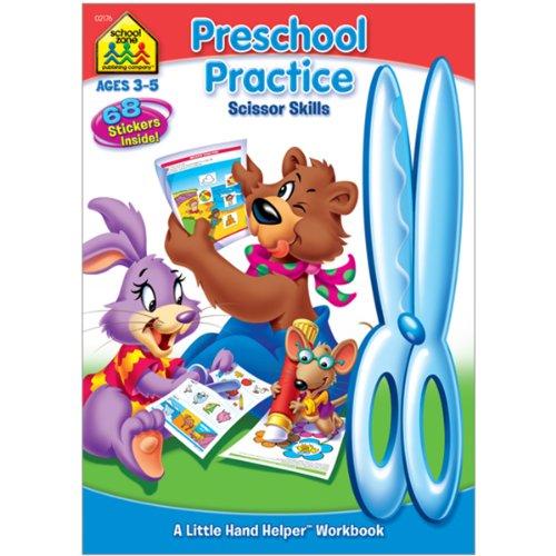 Preschool Practice Scissor Skills (Ages 3-5)