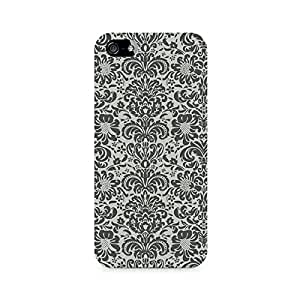 Rayite Vintage Floral Premium Printed Case For Apple iPhone 5/5s