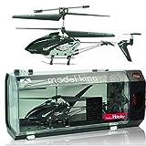 model king ラジコン ヘリコプター 室内ラジコンヘリ 3.5ch(ブラック)