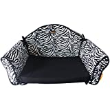 Ondoing Pet Sofa Bed Dog Sofa Protector Cat Chair Bed Removable And Washable Soft Fleece Cover Black Small