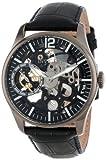 Invicta Men's 12406 Vintage Mechanical Black Dial Black Leather Watch Reviews