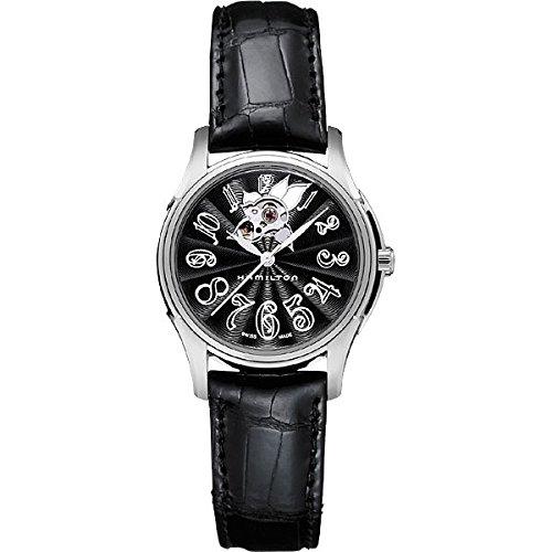 Hamilton H32395733 - Reloj para mujeres, correa de cuero