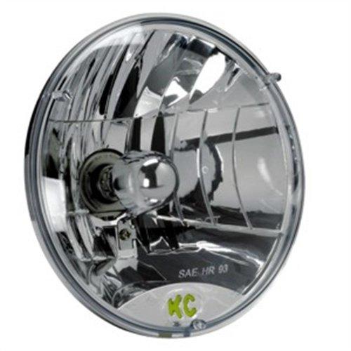"Kc Hilites #4230 Headlight Headlamp - 7"" Round Lexan 55 / 60W H4 (Ea)"