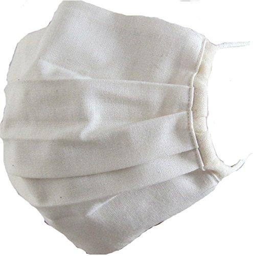洗えるオーガニックコットン立体マスク ナチュラル SIGN サイン NOC GREEN認定商品
