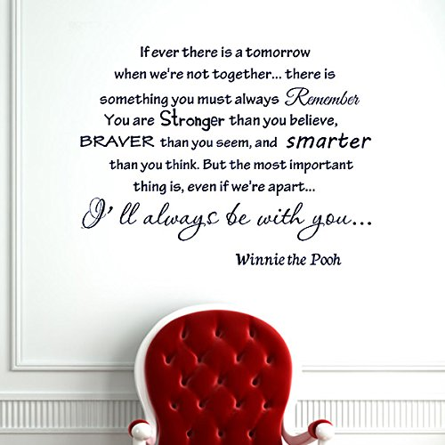 Winnie The Pooh Wall Quotes front-643655