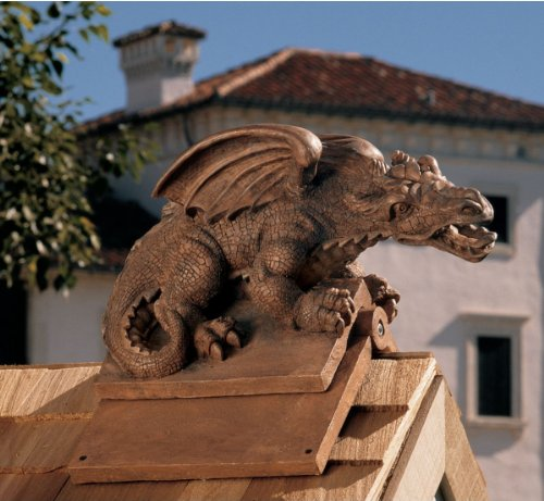 Apex, the Winged Dragon Sculptural Roof ...