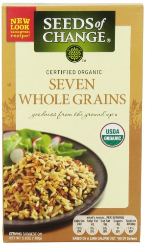 Seeds of Change Organic Pilaf Blend, Seven Grain, 5.6-Ounce Boxes (Pack of 12)