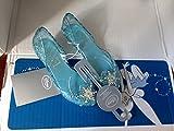 Disney Store Frozen Elsa Shoes Costume Slippers Girls Size US 13/1 13-1