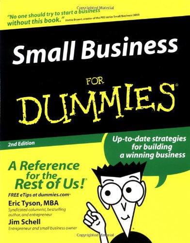Small Business For Dummies (For Dummies (Lifestyles Paperback)) front-339814